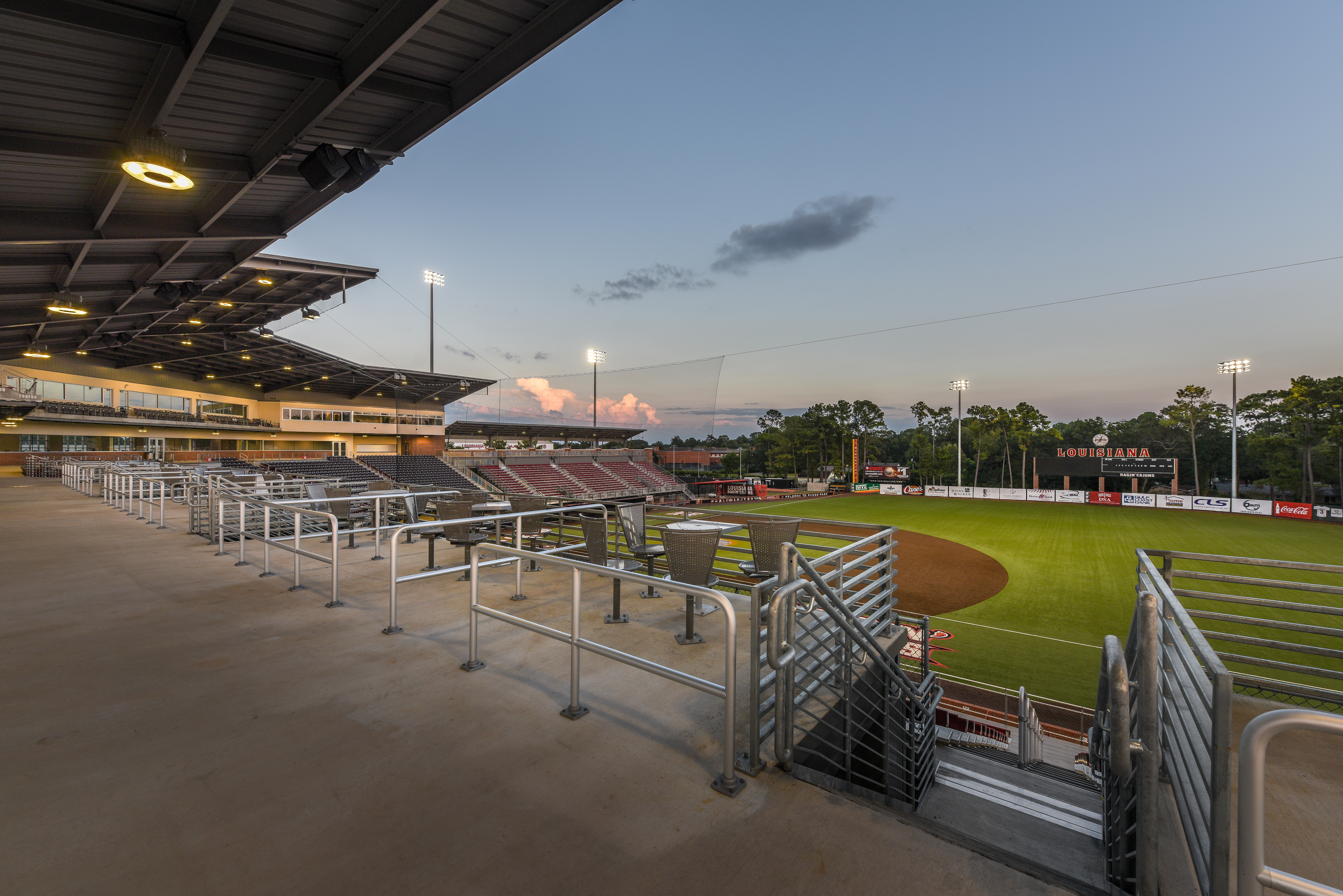 University of Louisiana at Lafayette Baseball Stadium Image