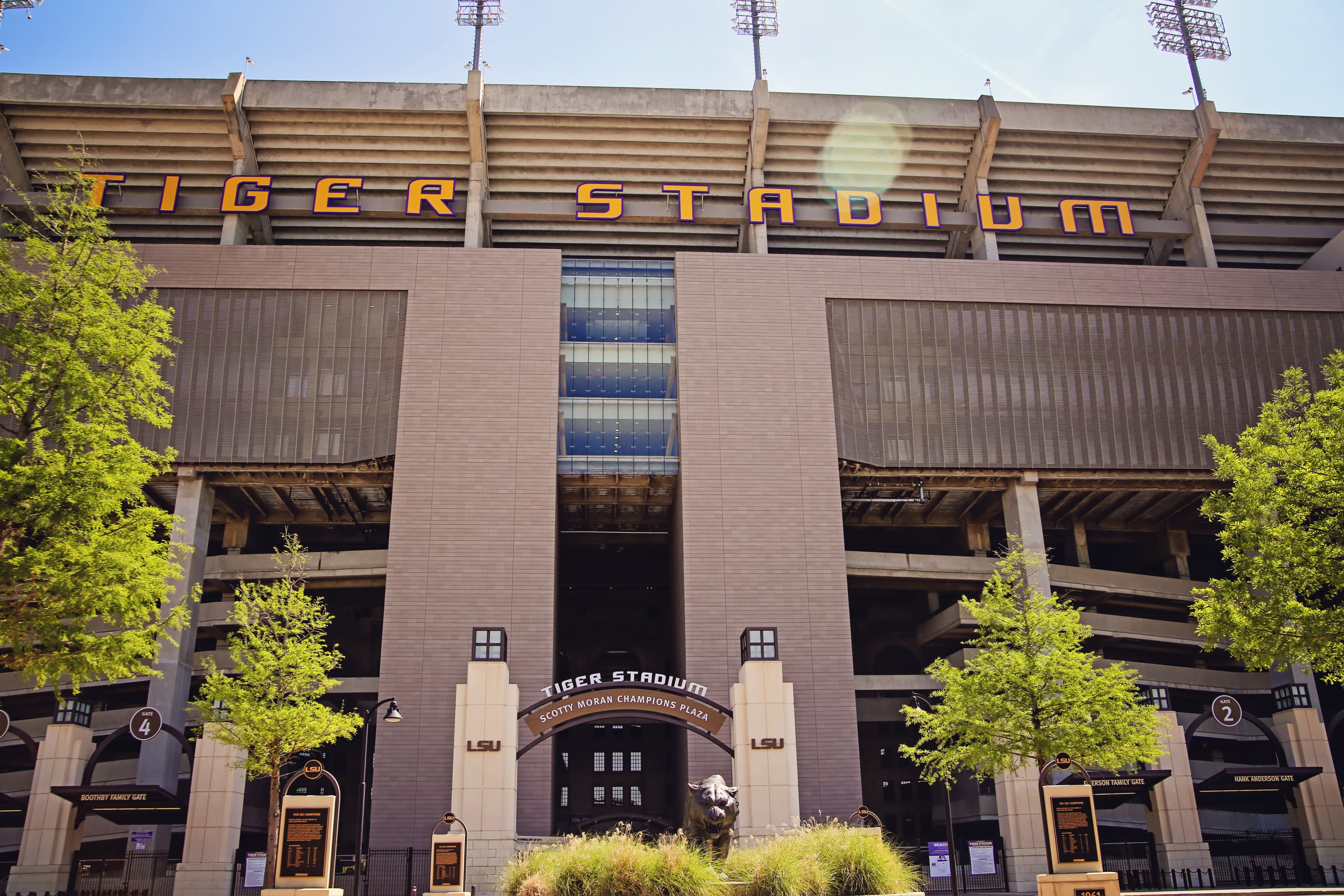 LSU TIGER STADIUM Image