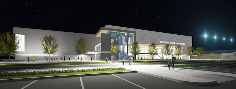 MCNEESE STATE UNIVERSITY HEALTH AND HUMAN PERFORMANCE ARENA Image